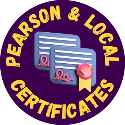 pearson&local-certificates